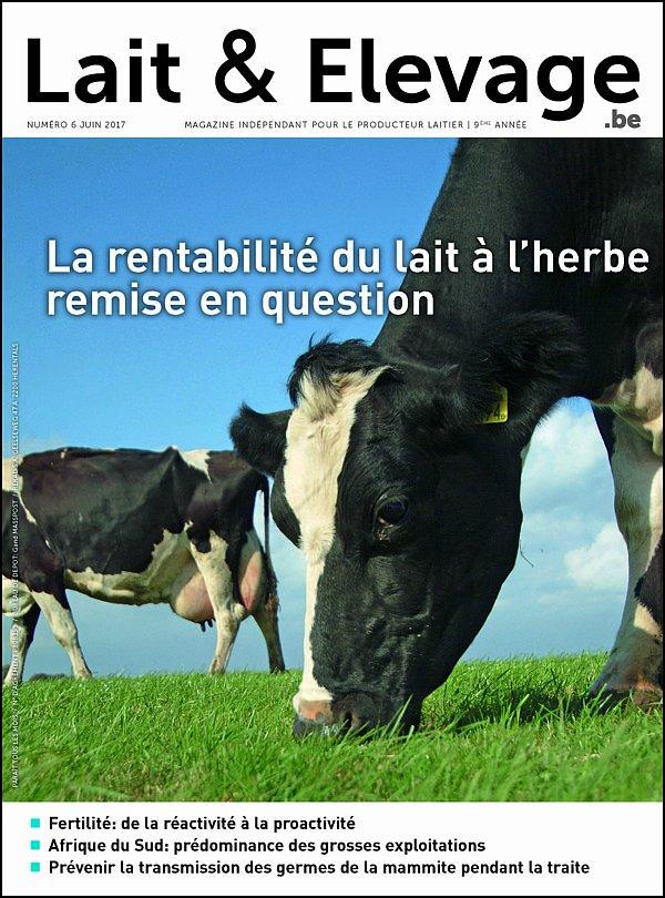 Magazine lait&élèvage - juin 2017