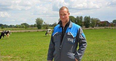 «Les vaches laitières sont comme des sportifs de haut niveau. Elles méritent donc les meilleurs soins et accompagnement.»  Dries Maenhout