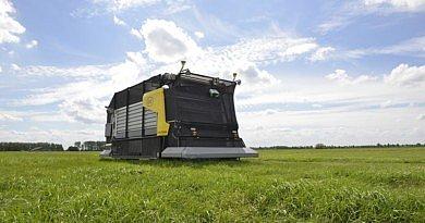 Lely lance un concept unique autonome pour la distribution d'herbe fraîche
